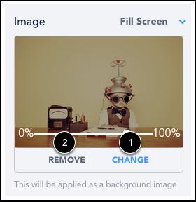 Change or Remove Image