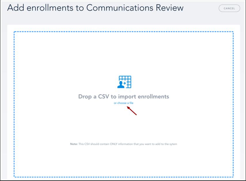 Add Enrollments