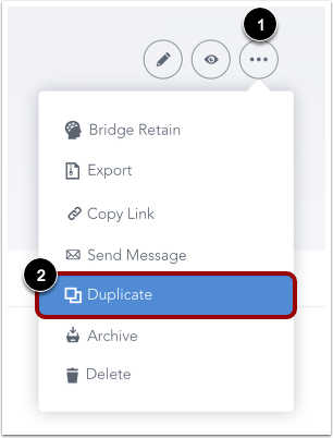 Duplicate from Course Details