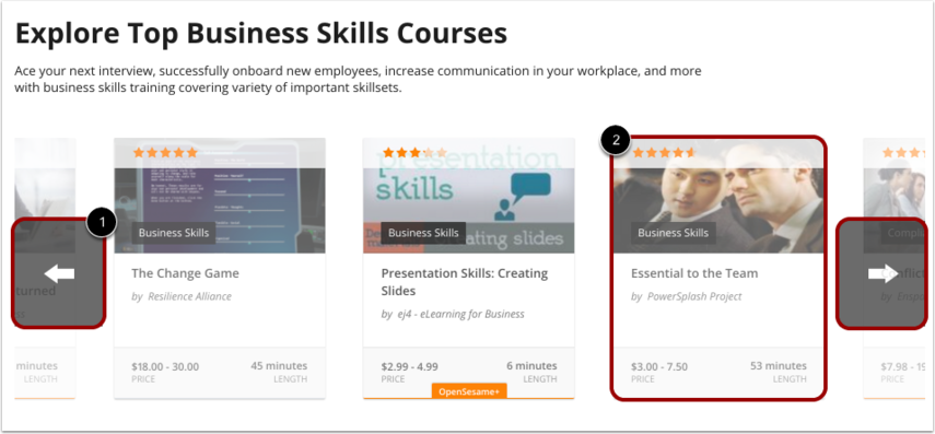 View Recommended Courses