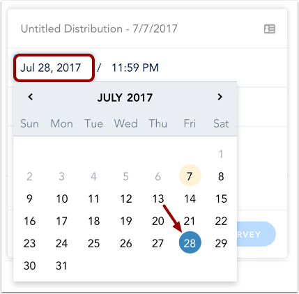 Add End Date & Time