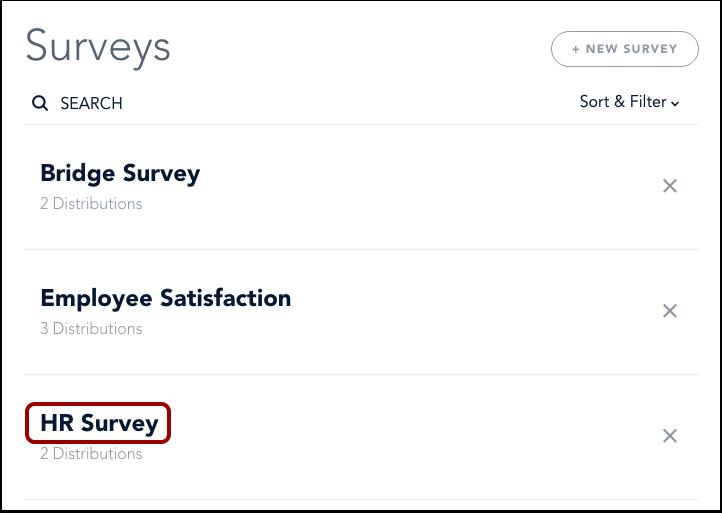 Open Survey