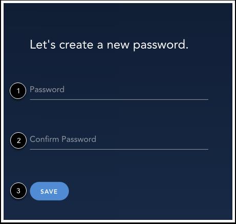 Create New Password