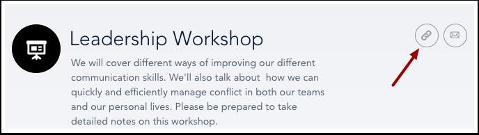 Open Live Training Settings