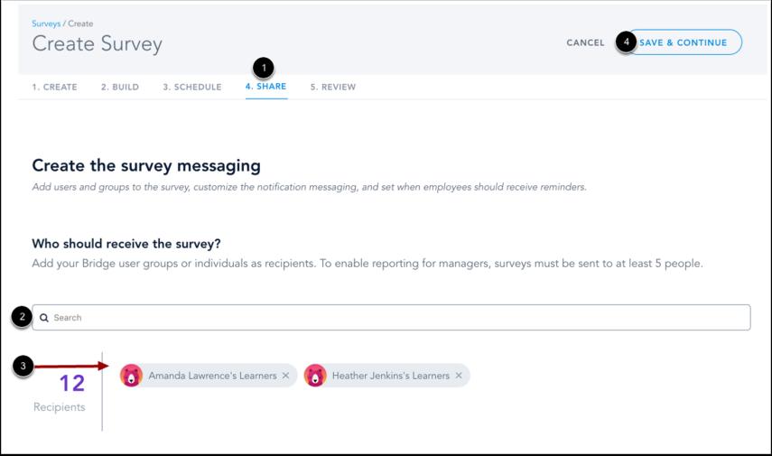 Share Survey