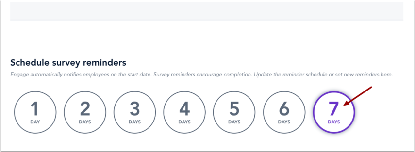 Schedule Survey Reminders