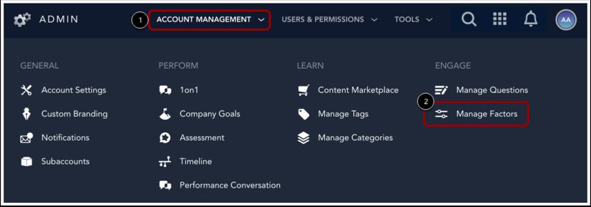 Open Manage Factors