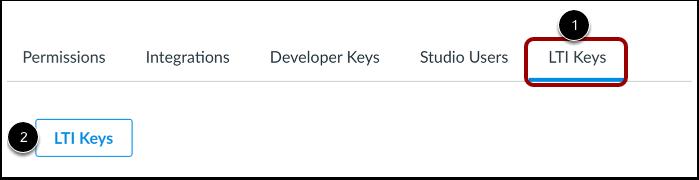 Open LTI Keys