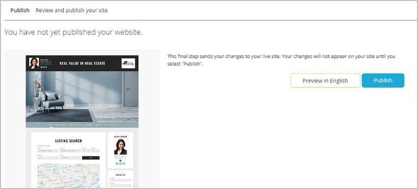 Publish - Google Chrome