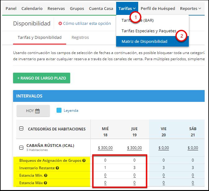 DEMO - Colombian Highlands - Matriz de Disponibilidad - Google Chrome