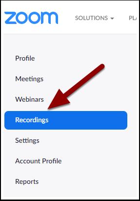 Recording Information - Zoom - Google Chrome