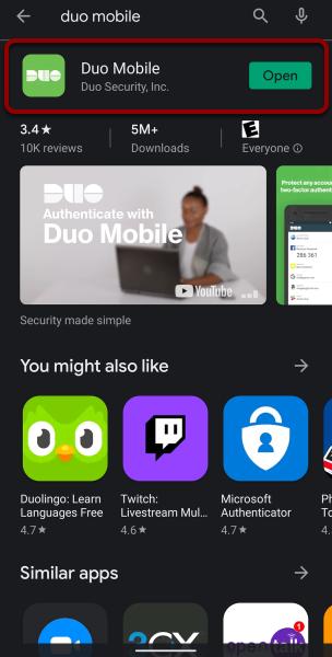 download duo mobile app