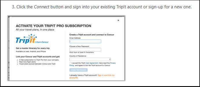 SAP Concur: Activate TripIt Pro – TripIt Help Center - Google Chrome