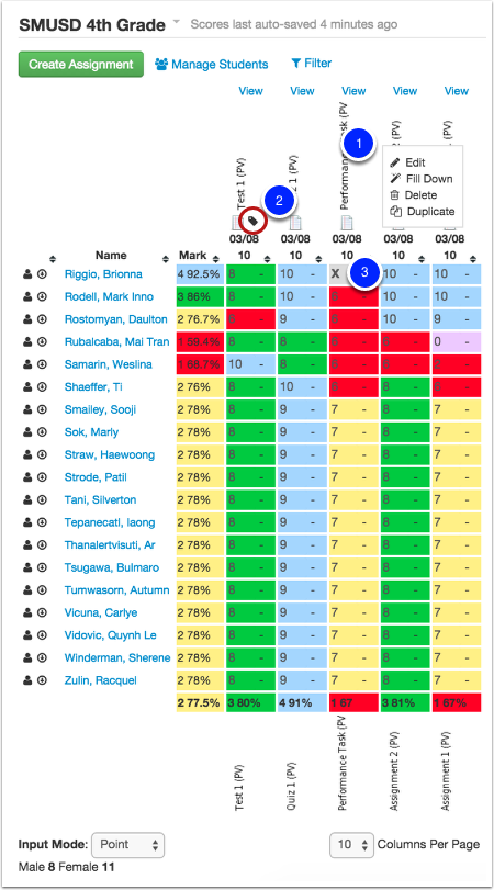 Spreadsheet View Basics