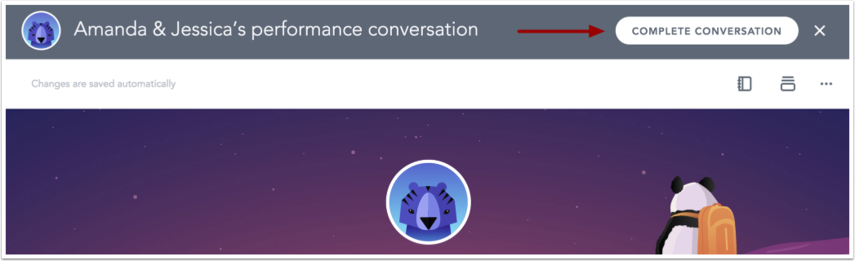 Complete Performance Conversation