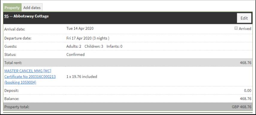 Booking 1059004 : SuperControl - Google Chrome