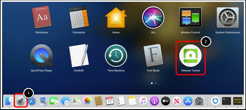 macOS Dock