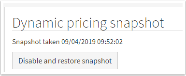 Dynamic pricing snapshot : SuperControl - Google Chrome