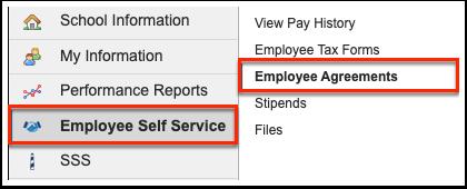 Employee Agreements
