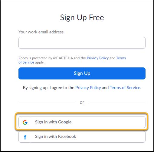 Sign Up Free - Zoom - Google Chrome