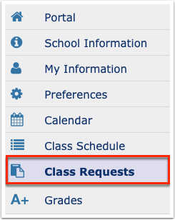 Class Requests