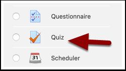 Add an Activity or Resource menu