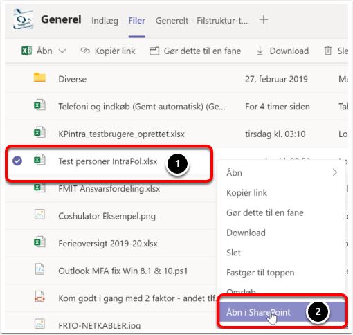 Generel (IT-service) | Microsoft Teams