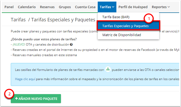 DEMO - Colombian Highlands - Tarifas Especiales y Paquetes - Google Chrome