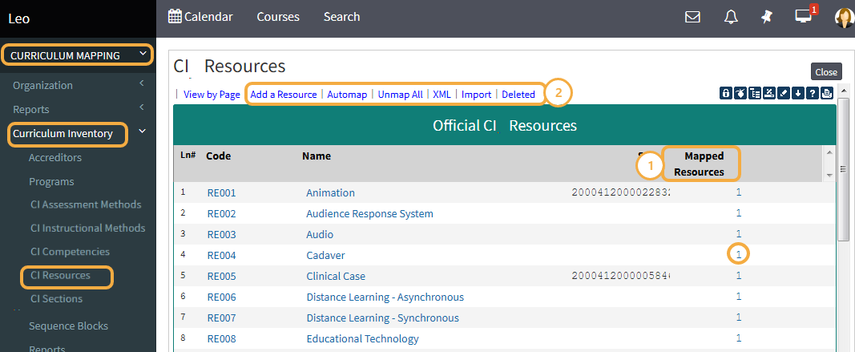 Official CIP Resources