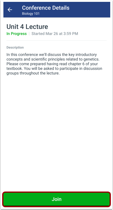 Join Conference