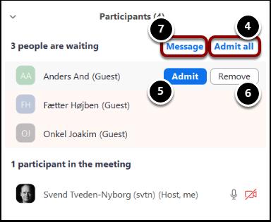 Zoom Meeting ID: 705-343-400