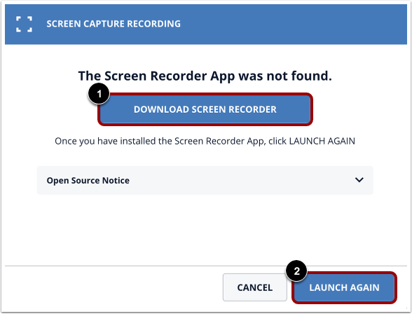 Download Screen Capture Application