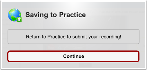 Return to Practice