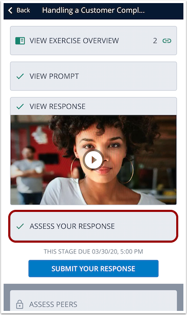 Assess Your Response Mobile