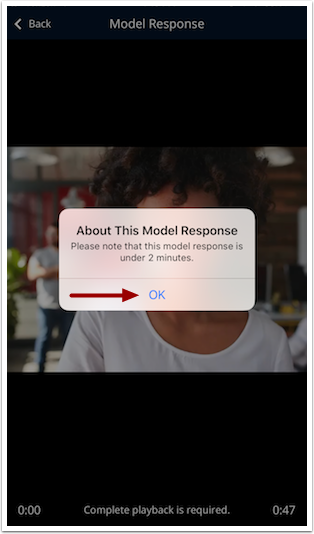 About Model Response