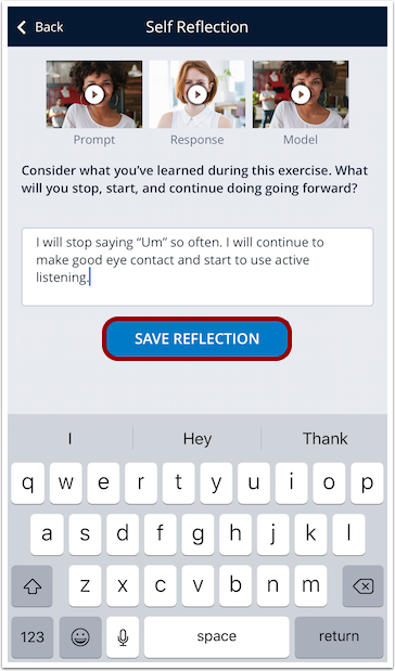 Save Reflection