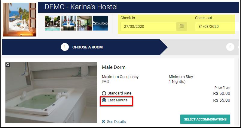 DEMO - Karina's Hostel - São Paulo, Brazil - Best Price Guarantee - Google Chrome