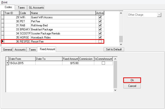 Fixed Amount