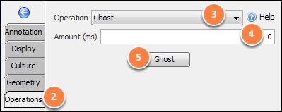Ghost the 2D horizon