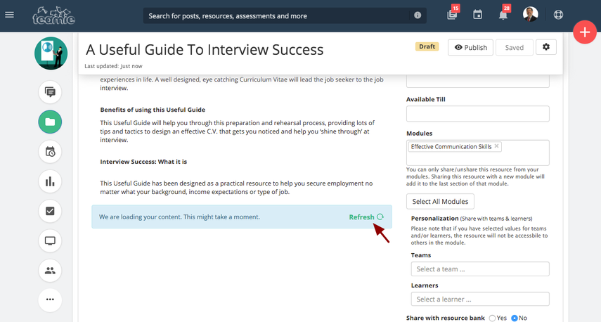 (28) A Useful Guide To Interview Success | Training Demo