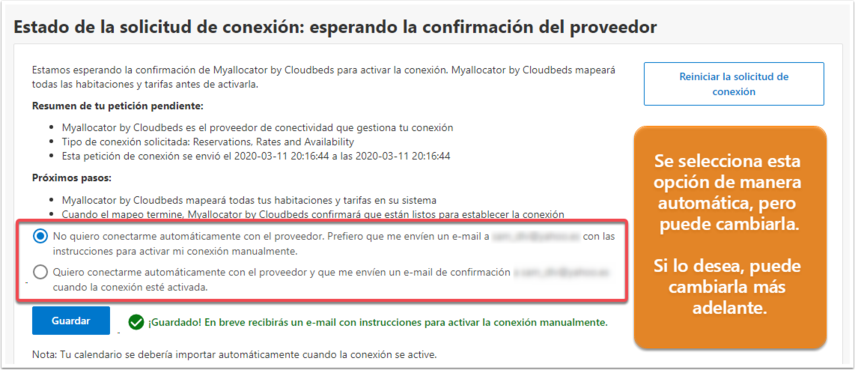 Test · Waiting for provider connection - Google Chrome