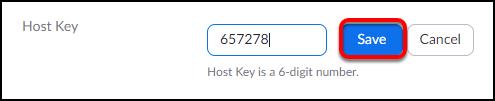 new host key