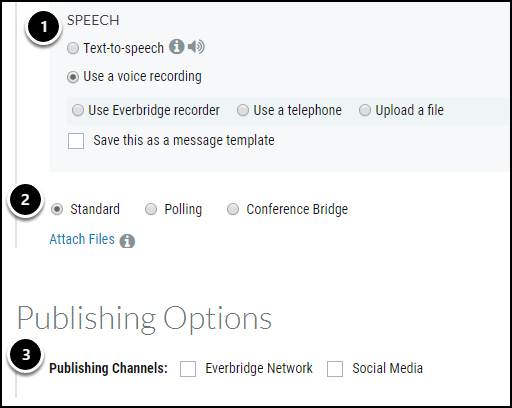 speech, message, publishing