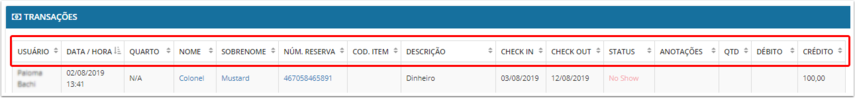 DEMO - Beach Life Testing - Transações - Google Chrome