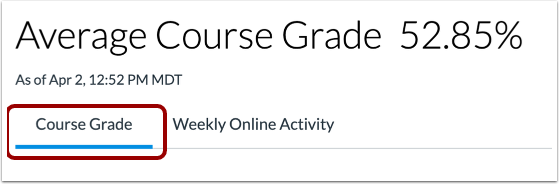 Open Course Grade Analytics