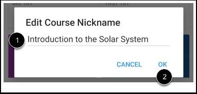 Create Nickname
