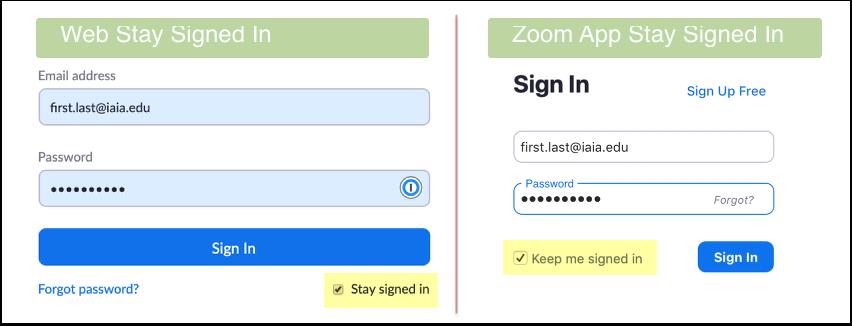 Sign In - Zoom - Vivaldi