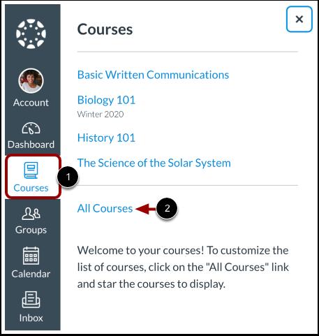 Open Courses List