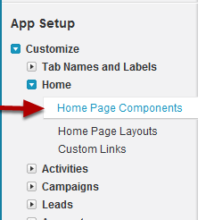 Defining Home Page Components