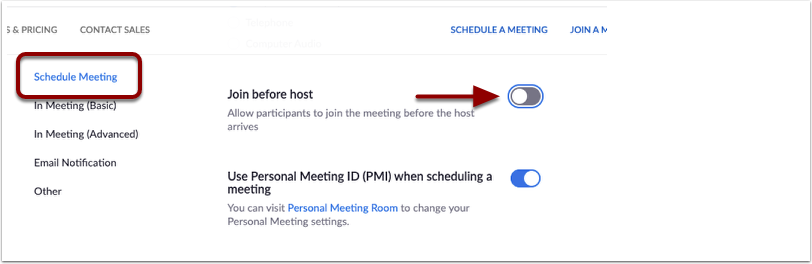Schedule Meeting